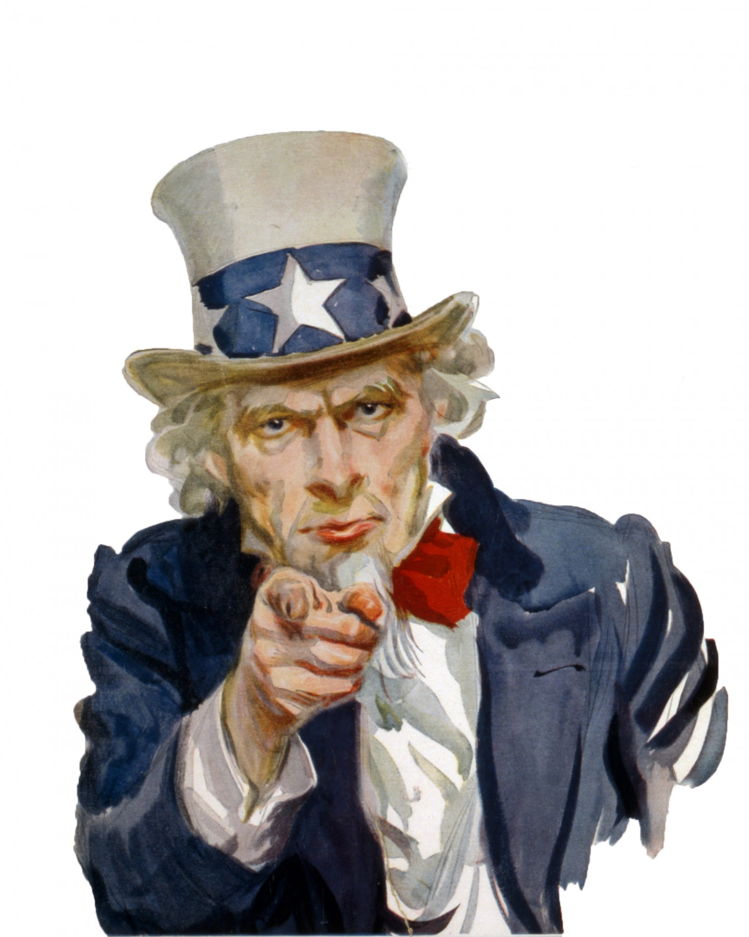 uncle sam pointing as external link in legal blog