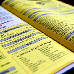 Yellow pages legal directory lawyer marketing