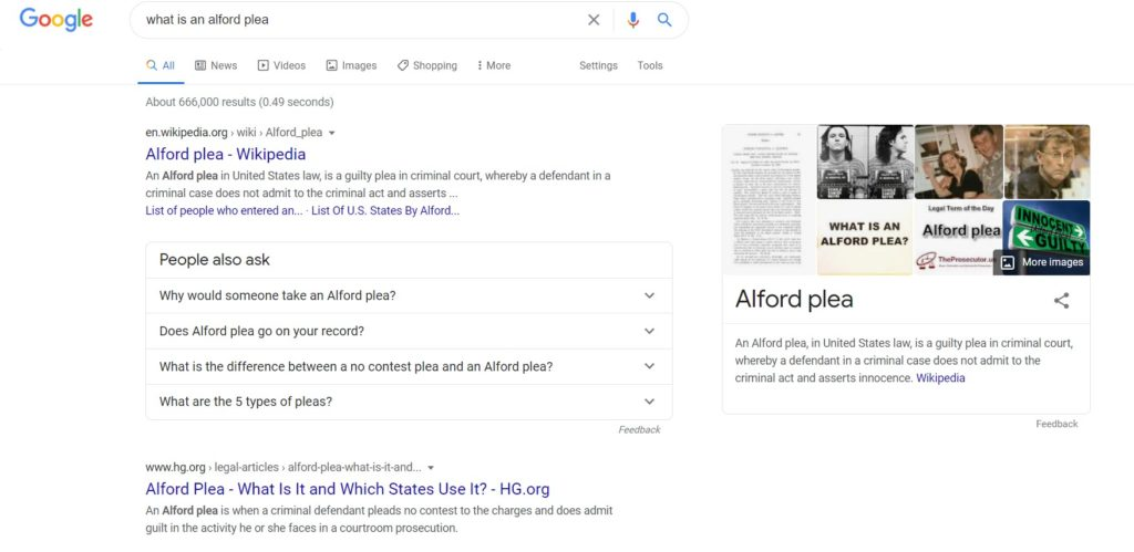People also ask box in Google SERP